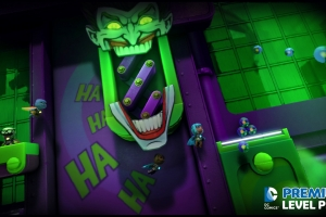 LittleBigPlanet DC Comics Premium Level Pack